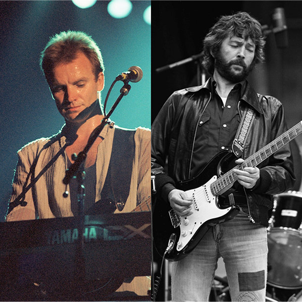 Sting & Eric Clapton