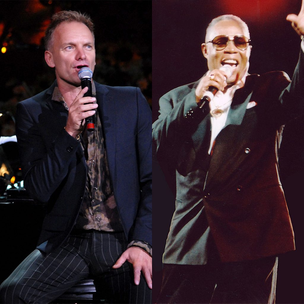 Sting & Sam Moore