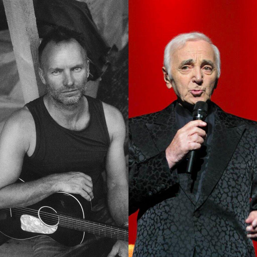 Sting & Charles Aznavour